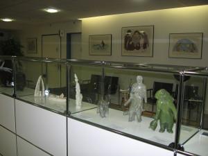 коллекция изделий из камня в клинике